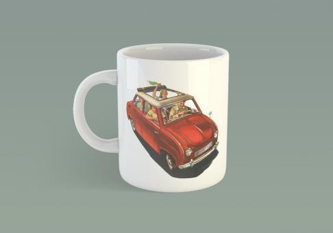 Kaffeetasse Goggomobil Limousine
